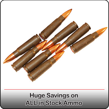 Huge Savings On All In Stock Ammo!