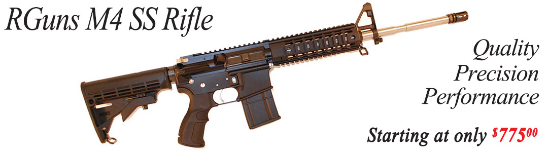 RGuns M4 SS Rifle, Quality, Precision, Performance