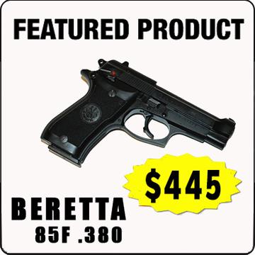 Beretta 85F .380